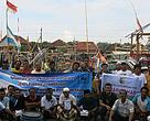Photo together with Fisherman Group Sinar Bahari