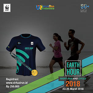 Earth Hour Night Run & Cycle 2018