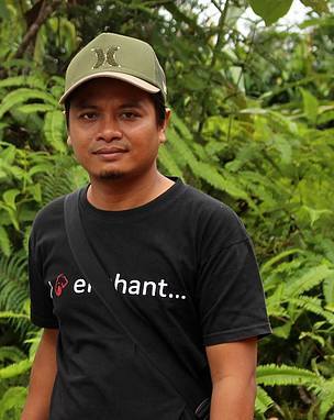 Agus Suyitno, Human-Elephant Conflict Mitigation Officer WWF-Indonesia