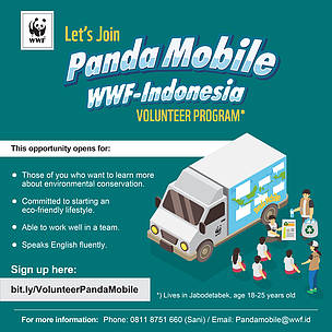 Open Recruitment Volunteer Panda Mobile 2018
